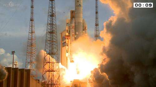 Sixth launch for Ariane 5 this year
