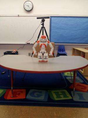Socially-assistive robots help kids with autism learn by providing personalized prompts