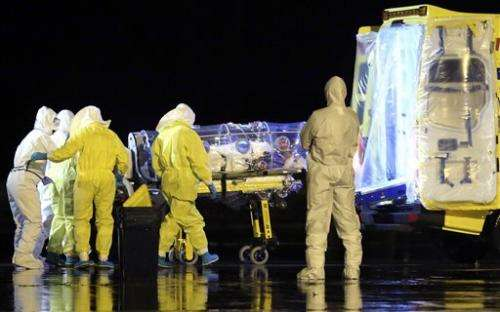 Spain: Ebola test drug out of supply worldwide