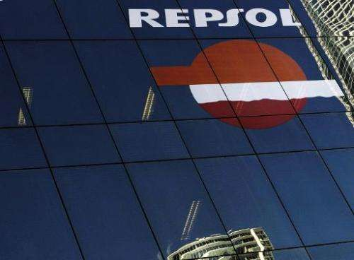 Spanish energy firm Repsol began searching for oil in the waters off the Canary Islands, a top holiday destination, despite obje
