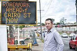 Stop-Go: Controlling the dangers at roadworks