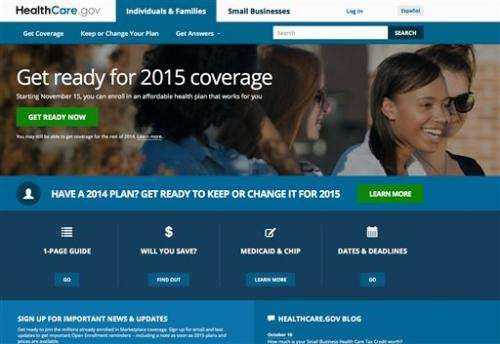 Stronger start for Obama's health law this year