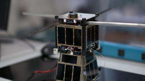 Student-built satellite sends data from space