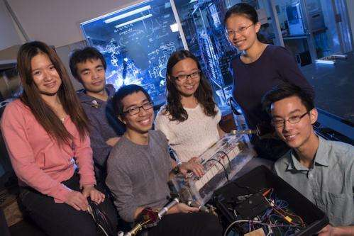 Students' energy invention is really out there