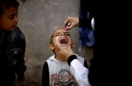 Study: Combining vaccines boosts polio immunity