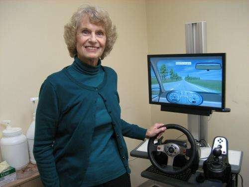Study using driving simulator determines when it's safe to drive after hip replacement