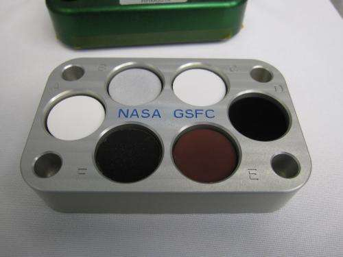 Super-black nano-coating to be tested for the first time in space
