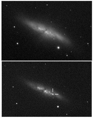 Supernova explosion in M82 is exciting, but no neutrinos
