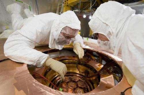 SU plays key role in search for elusive dark matter