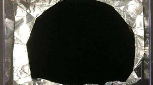 "Surrey NanoSystems has ""super black"" material"