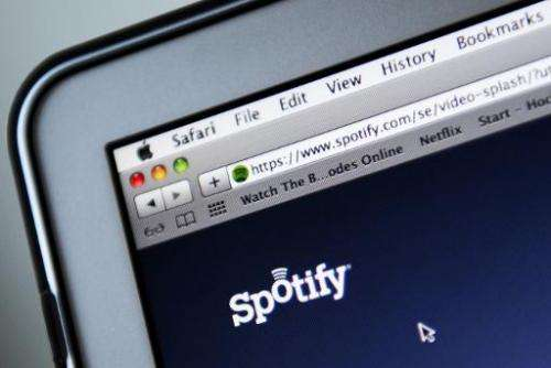 Sweden-based Spotify says it has 50 million subscribers worldwide, including 12.5 million who pay for the premium service which