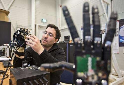 Telerobotic robot hand