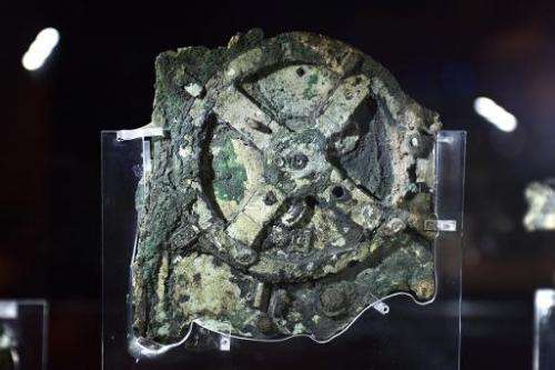 The Antikythera Mechanism—is a 2nd-century BC device known as the world's oldest computer—becsause it could track astronomical p