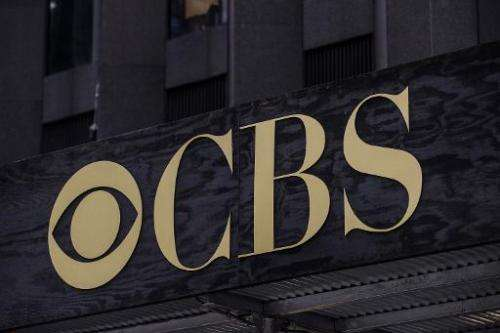 The CBS headquarters seen on August 2, 2013 in New York City