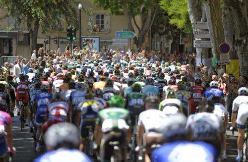 The changing technological face of the Tour de France