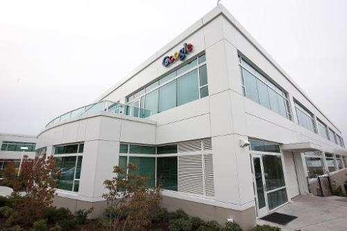 The Google Kirkland facility is seen on October 28, 2009, in Kirkland, Washington