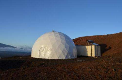 The HI-SEAS (Hawaii Space Exploration Analog and Simulation) habitat where six researchers have began an eight-month test of how