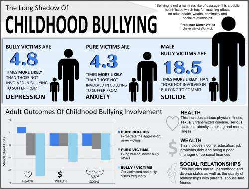The long shadow of childhood bullying