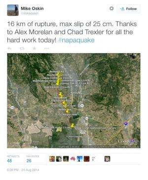 The next Napa earthquake could be much bigger, scientists find