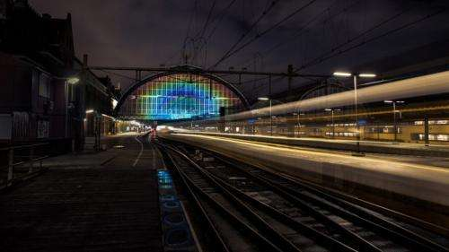 "The science and engineering behind Amsterdam's ""Rainbow Station"""