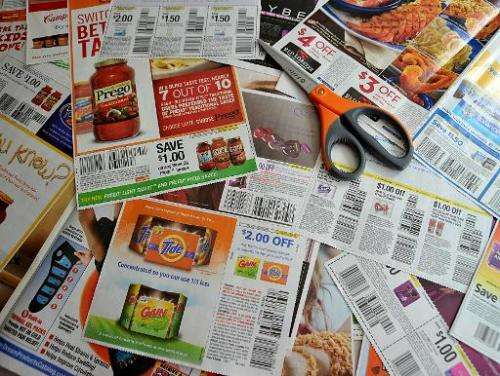 The stock market debut of Coupons.com brought out bargain-seekers on Friday, shooting the online discount firm up a stunning 87