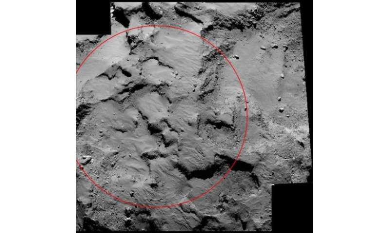"This image obtained from NASA on October 16, 2014 shows a mosaic from the European Space Agency's Rosetta spacecraft of ""Si"