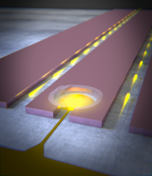 Tiny graphene drum could form future quantum memory