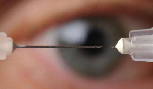 Tiny needles offer potential new treatment for two major eye diseases