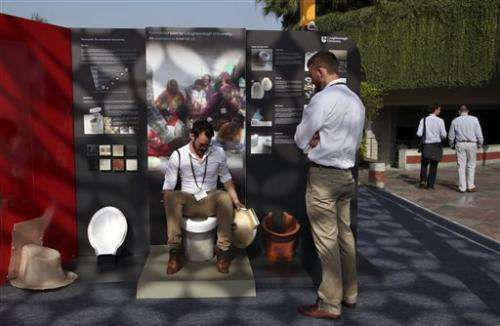 Toilet tech fair tackles global sanitation woes