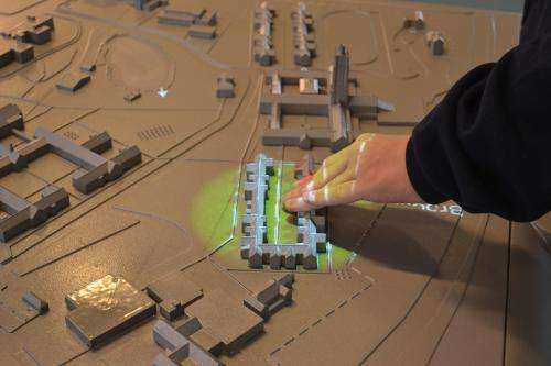 Touch-responsive maps provide  independence to the visually impaired