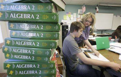 Trend-starting Texas drops algebra II mandate