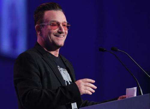 U2's frontman Bono described the release as an innovative way to bring a mass audience to his album, which he described as his m
