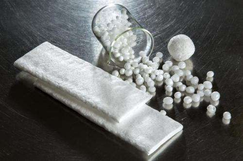 VTT developing an environmentally friendly alternative for polystyrene