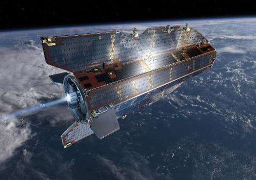 Undated artist's impression of the Gravity field and Ocean Circulation Explorer (GOCE) satellite which was planned to have lift-