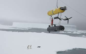 Unmanned underwater vehicle provides first 3-D images of underside of Antarctic sea ice