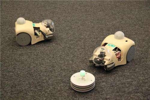 Using robots to study evolution