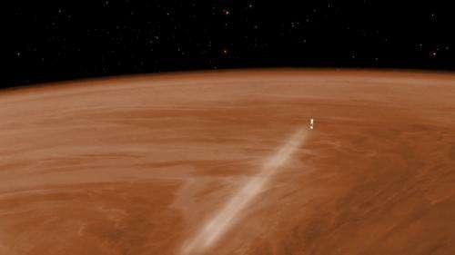Venturing into the upper atmosphere of Venus