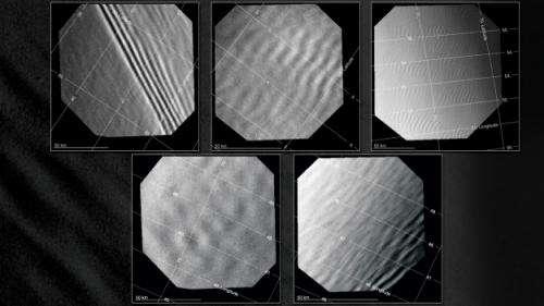 Venus mountains create wave trains