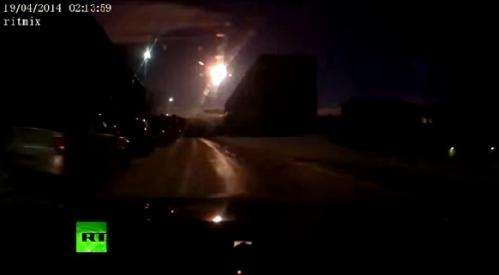 Another fireball explodes over Russia