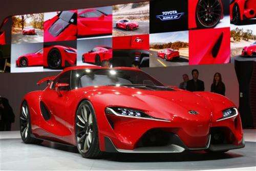 Video game players can check out Toyota concept
