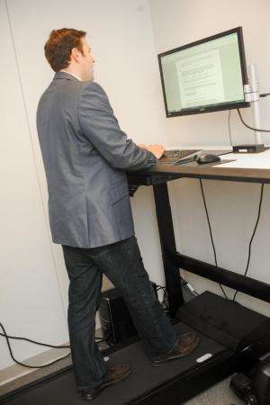 Walking workstations improve physical and mental health, builds healthier workplace