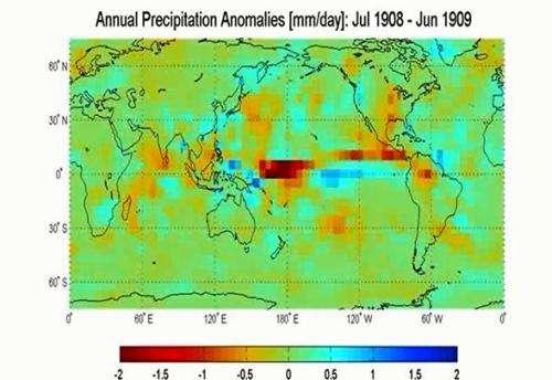 Weather history time machine