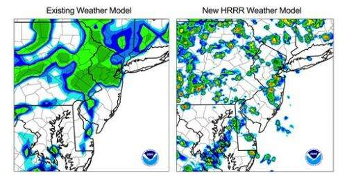 Weather service storm forecasts get more localized