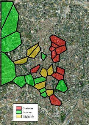 What you tweet when you go party can be useful for improving urban planning