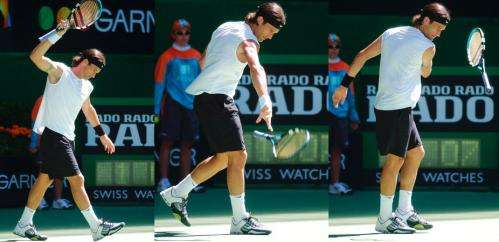 Why some players can't keep their cool when the tennis heats up