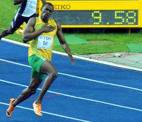 Will a human ever run 100m in under nine seconds?
