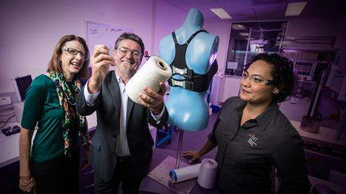 World-first 'bionic bra' inches closer to reality
