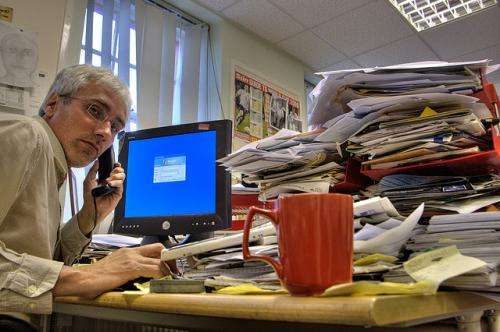Would we be better off if we sent email into retirement?