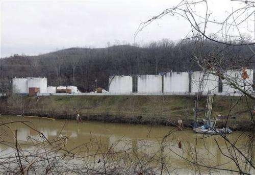 W.Va. spill exposes a new risk to water from coal