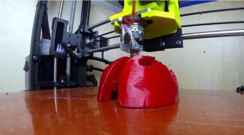 CSU lab team custom-build helmet liner for Brazil event (w/ video)